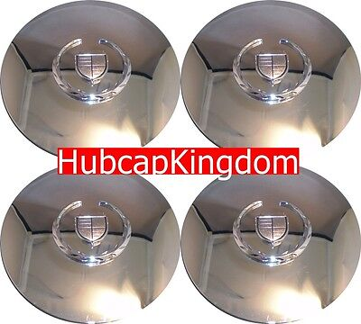 NEW 2003-2006 Cadillac ESCALADE ESV EXT Chrome Wheel Center Cap Aftermarket SET