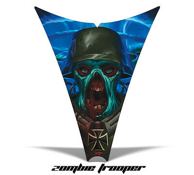 Amr Racing Sled Hood Wrap Graphic Decal Ski-doo Rev 04-12 Part Snowmobile Zombie