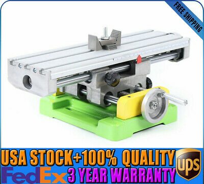Mini Multifunctional Milling Machine 2-axis Cross Work Table For Bench Drilling