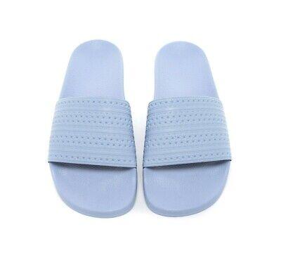 Womens Adidas Adilette Pastel Blue Slides (PFC) RRP £29.99