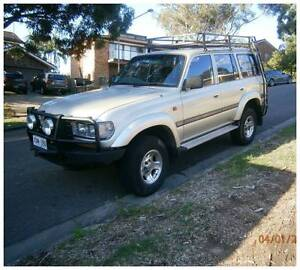 Toyota Landcruiser 1HZ Diesel 5 speed 1996 80 series Manual trans Asquith Hornsby Area Preview
