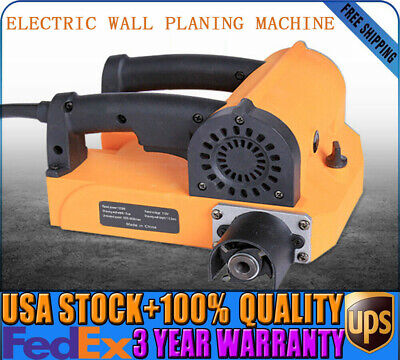 110v Electric Wall Chaser Planer Groove Cutting Machine Wall Slotting Machine