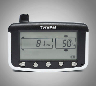 TyrePal TC215B Tyre Pressure Monitoring System TPMS with 2 Sensors for Caravans