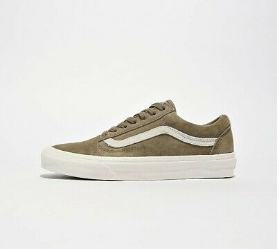 Womens Vans Old Skool Khaki Trainers (PF2) RRP £63.99