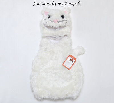 NEW Pottery Barn Kids BABY WHITE KITTY HALLOWEEN COSTUME 6-12 9 MOS NWT *cat