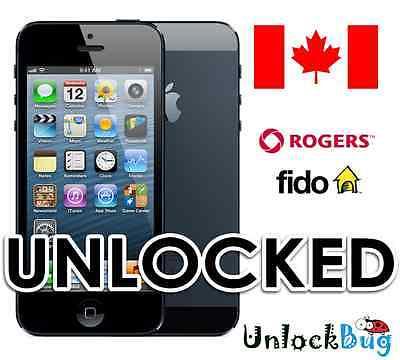SERVICE DOWN - Premium Factory Unlock Service - Canada Rogers/Fido iPhone