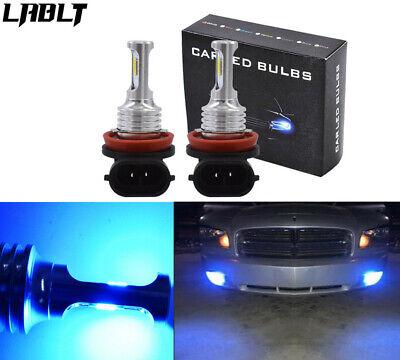 H11 H8 H9 H16 CREE LED Fog Light Conversion Kit 8000K Ice Blue 35W PLUG AND PLAY