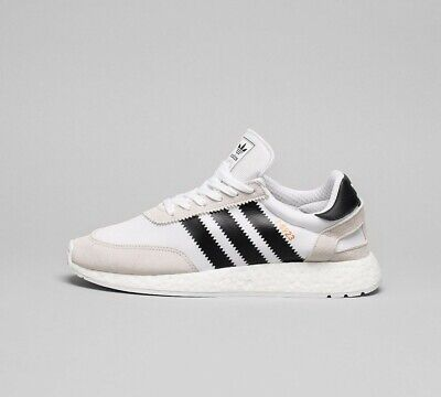 Mens Adidas I-5923 Boost White/Black/White Trainers (LF1) RRP £109.99