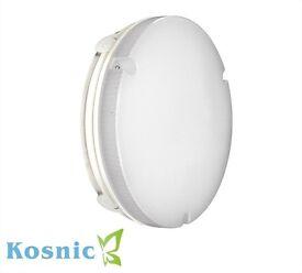 KOSNIC LED EMERGENCY IP65 BULKHEAD C/W 12W LED LAMP