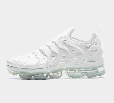 Mens Nike Air VaporMax Plus - Size 9 - White
