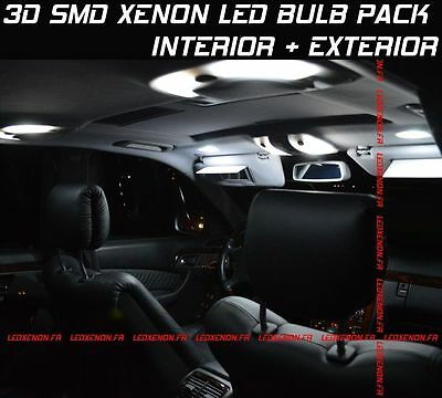 20 SMD XENON LED BULB KIT SET AUDI Q5 2008-2014 INTERIOR + EXTERIOR PACKAGE