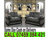 ITALIAN FABRIC 3 AND 2 SEATER SOFA SUITE ALSO AVAILABLE IN CORNER STYLE