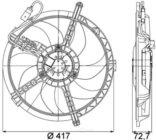 3254 New Condenser For Mini Cooper 2002-2007 1.6 L4 Lifetime Warranty