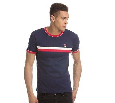Mens Fila Razee Navy T-Shirt (SA1) RRP £26.99