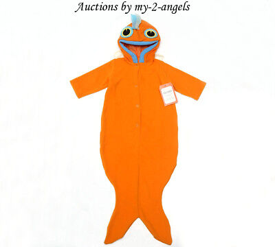 NEW Pottery Barn Kids BABY GOLDFISH HALLOWEEN COSTUME 6-12 9 MONTHS *Infant Fish
