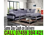 FABRIC CORNER SOFA SUITE BLACK.GREY OR BROWN.BEIGE ALSO AVAILABLE IN 3 AND 2 SEATER SET