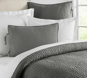 *BRAND NEW* Quilted Euro Pillow Sham 26x26 Grey / Pewter Colour HUGE LOT Clearout, Retails for $79.97