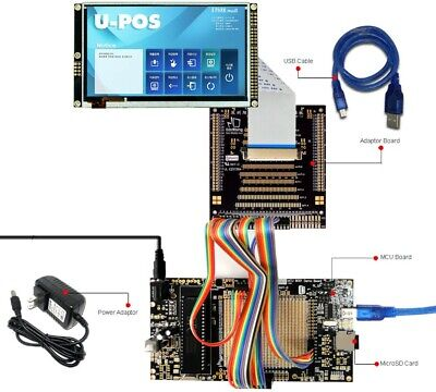 8051 Microcontroller Development Board Kit Usb Programmer For 5tft Lcd Module