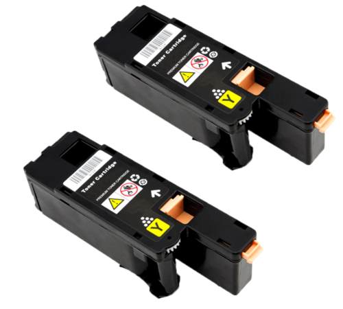 1PK 332-0402 Yellow Toner Cartridge Compatible For Dell C1660 C1660W Printer