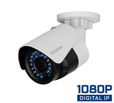 LaView 1080P 2MP PoE IP Bullet Security Camera System Night Vision Home Business