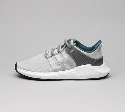 Mens Adidas EQT Support 93/17 Grey/White Trainers (PF1) RRP £149.99
