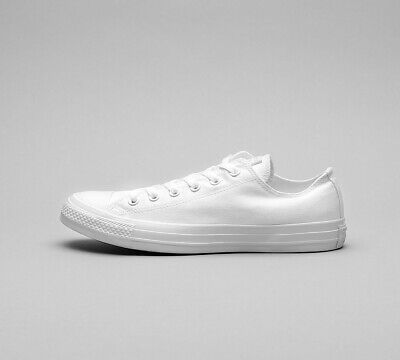 Mens Converse CTAS OX White Trainers (SF1) RRP £44.99