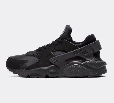 Mens Nike Air Huarache Black Trainers (NF1) RRP £104.99