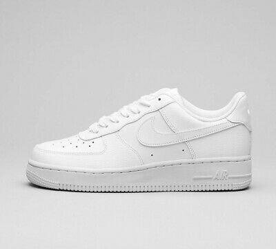 Womens Nike Air Force One AF1 07 White Trainers (NF1) RRP £74.99