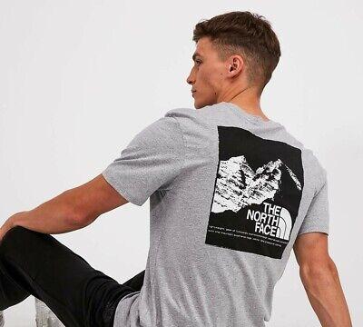 Mens The North Face Grey Mountain Explorer T shirt BNWT - Size Medium
