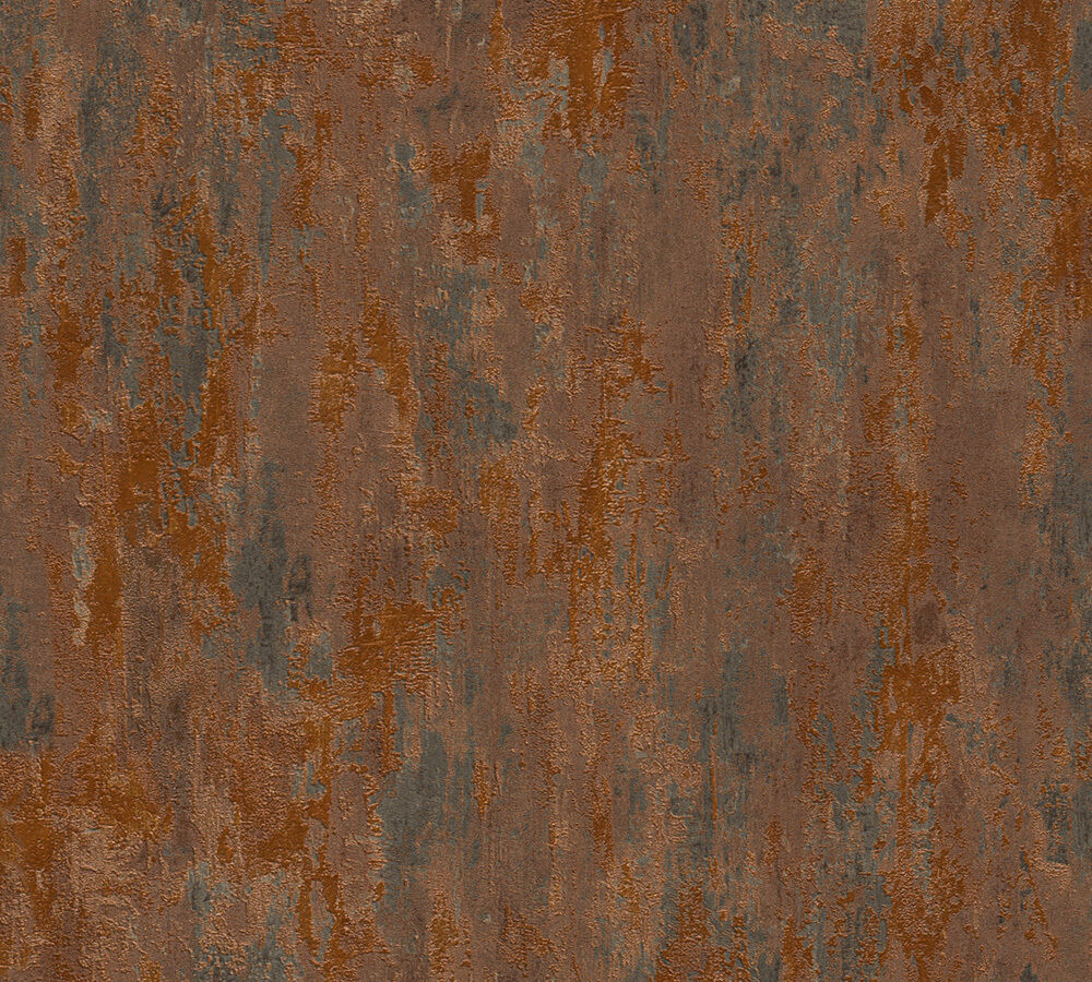 EUR 3,37 /qm / Betonoptik Tapete AS Creation Havanna 32651-1 / Beton Kupfer Rost