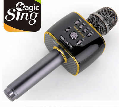 2018 Magic Sing MP30 Bluetooth Karaoke Mic free 1 year code to access 220K songs