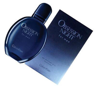 CALVIN KLEIN OBSESSION NIGHT FOR MEN EAU DE TOILETTE EDT SPRAY 125 ml