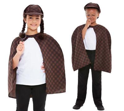 Viktorianisch Kinder Sherlock Detektive Kostüm Maskenkostüm Jungen - Detektiv Kostüm Junge