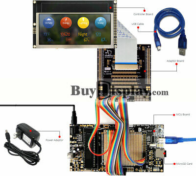 8051 Microcontroller Development Board Usb Programmer For 4.6tft Lcd Display