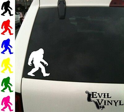 Sasquatch Decal Car Window Vinyl Bigfoot lot Animal iPad Laptop Sticker ANY SIZE
