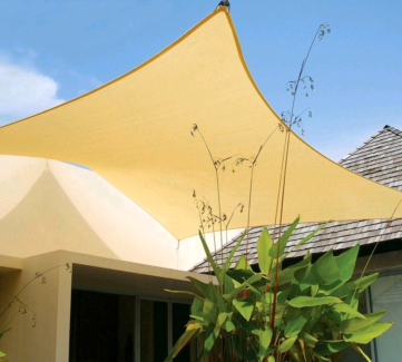 Brand New Coolaroo Square Shade Sail  3x3m includes all fittings