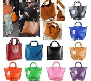 Ladies-Celebrity-Vintage-PU-Leather-Hobo-Shoulder-Tote-Retro-Handbag-Large-Bag