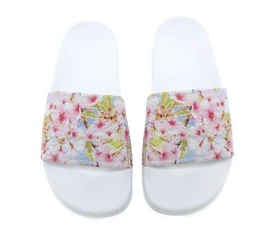 Womens Slydes Honey Blossom White Slides . RRP £24.99