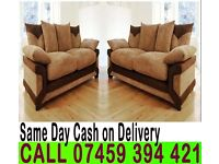 HIGH QUALITY 3 AND 2 SEATER FABRIC SOFA SUITES AVAILABLE IN CORNER SETTEE