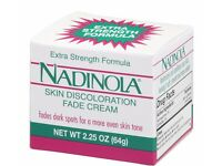 UK SELLER Nadinola Skin Discoloration Fade Cream Extra Strength, 2.25 OZ