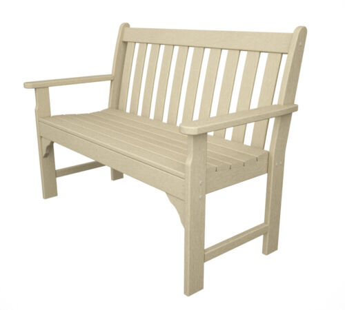 Poly Wood GNB48SA Vineyard 48 in. Bench - Sand