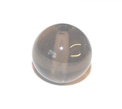 GENUINE GEMSTONE BEAD  BEADS GEM STONES CRAFT BEAD - SMOKEY QUARTZ - 6mm