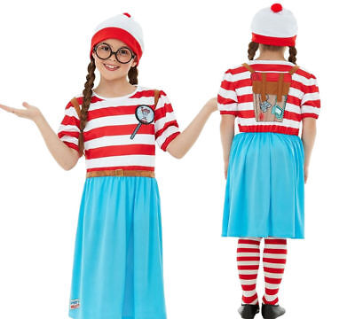 Wo Ist Wally Wenda Kostüm Mädchen Welttag des - Wo Ist Wally Kostüm Mädchen