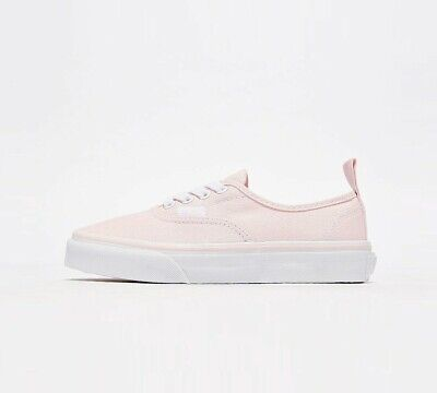 Infant Vans Authentic Chalk Pink/White Trainers (PF1) RRP £31.99