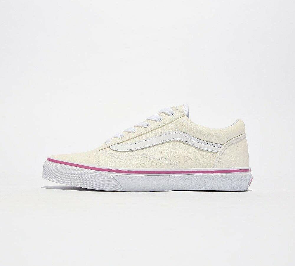VANS Old Skool Glitter (Rainbow White)