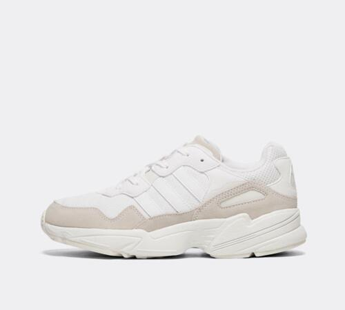 Junior Adidas Yung 96 White/Grey Trainers (PF1) RRP £59.99