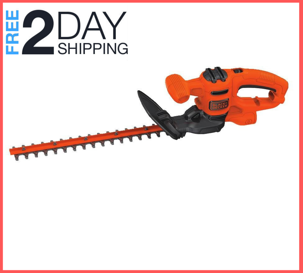 Electric Hedge Trimmer Lightweight, Compact Design and Reduc