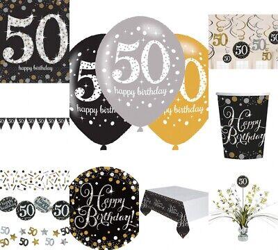 50. Geburtstag Dekoration mit der Zahl 50 Deko runder Geburtstag Party Tischdeko