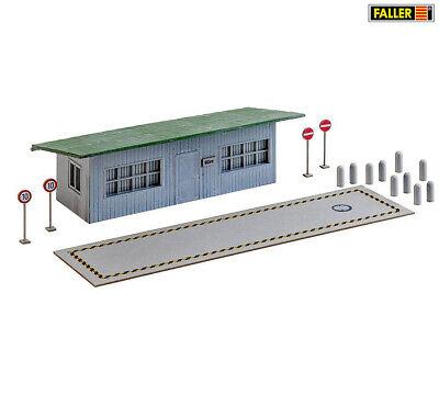 FALLER 130172 LKW-Waage mit Bürogebäude, Bausatz (H0) ++ NEU & OVP