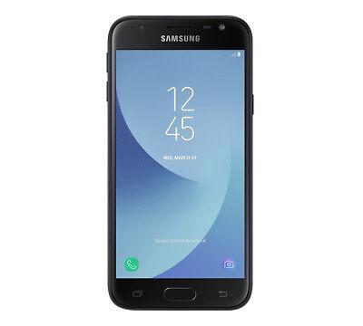"Samsung J3 2017 Smartphone Black 4G 5"" Android 16GB Unlocked Sim Free"